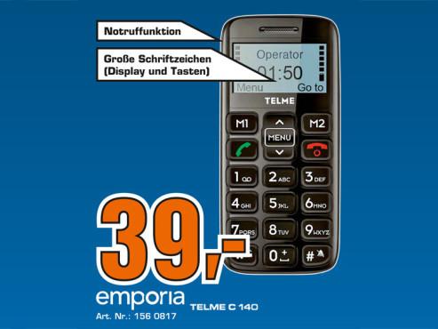Emporia Telme C140 ©Saturn