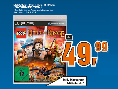 Lego – Der Herr der Ringe ©Saturn