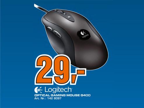 Logitech G400 ©Saturn