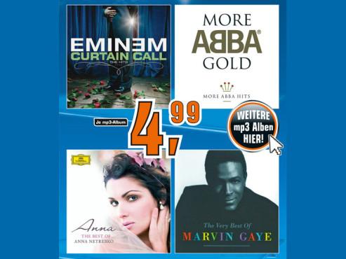 Musik-Download (MP3s) ©Saturn