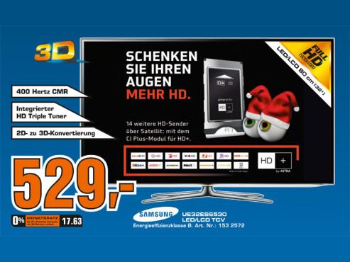 Samsung UE32ES6530 ©Saturn
