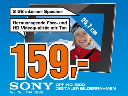 Sony DPF-HD1000 ©Saturn