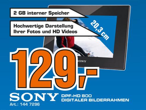 Sony DPF-HD800 ©Saturn