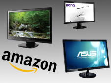 Günstige 24-Zoll-Monitore von Amazon © ViewSonic, BenQ, Asus, Amazon