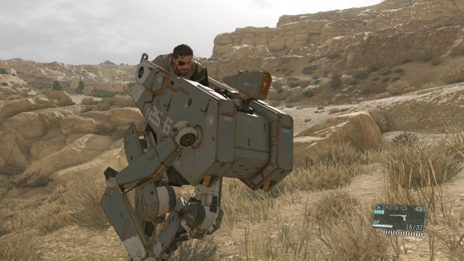 Actionspiel Metal Gear Solid 5: © Konami