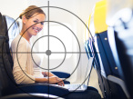 Passagier im Flugzeug&nbsp;&copy;&nbsp; lightpoet - Fotolia.com
