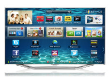 Samsung Smart TV ES8000 aus der Serie 3D-LED © Samsung