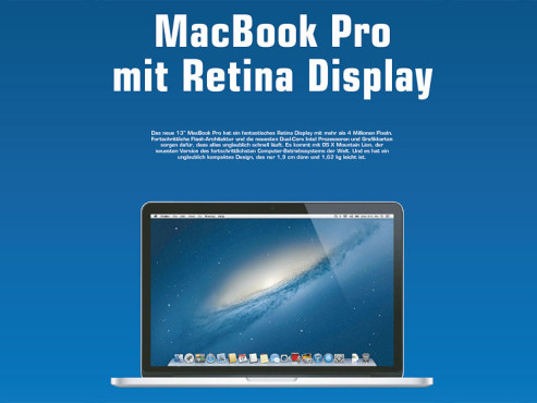 "Apple MacBook Pro 13"" Retina (MD212) © Saturn"