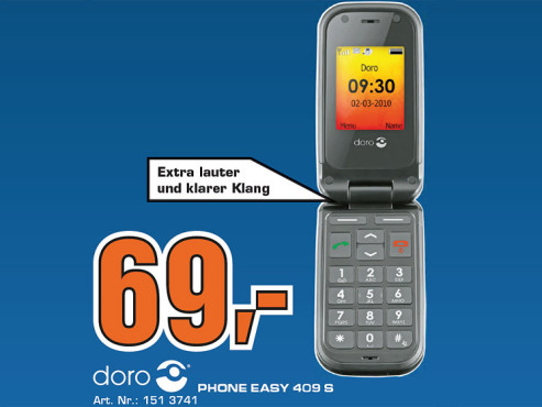 Doro PhoneEasy 409GSM © Saturn