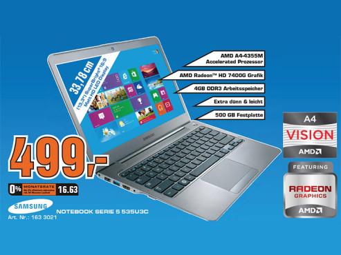 Samsung 535U3C (NP535U3C-A03) ©Saturn