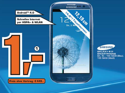 Samsung Galaxy S3 16G ©Saturn