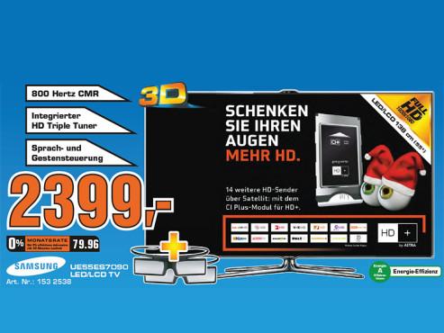 Samsung UE55ES7090 ©Saturn