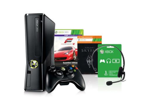 Xbox 360 250 GB plus Spiele ©Microsoft