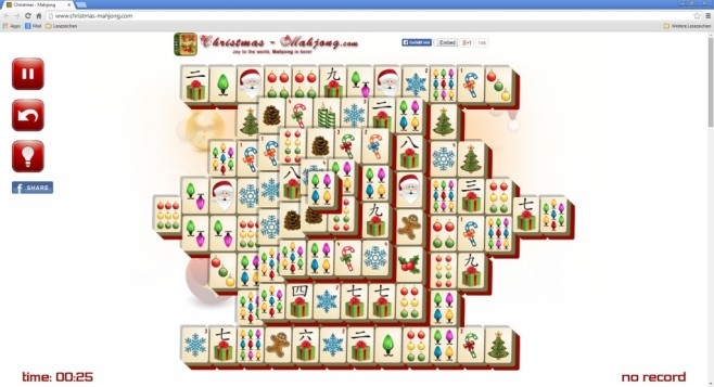 Christmas Mahjong © 24/7 Games