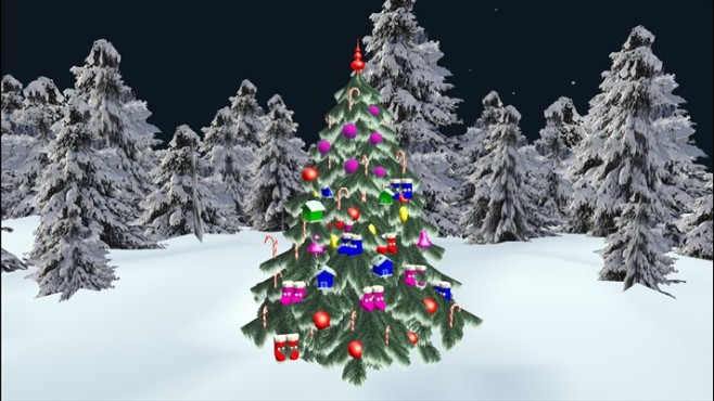 Christmas Tree 3D © RisingByte
