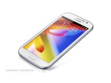 Samsung Galaxy Grand: Android-Riese vorgestellt Familienbande: Das Samsung Galaxy Grand sieht dem Spizenmodell Galaxy S3 sehr ähnlich. ©Samsung Tomorrow