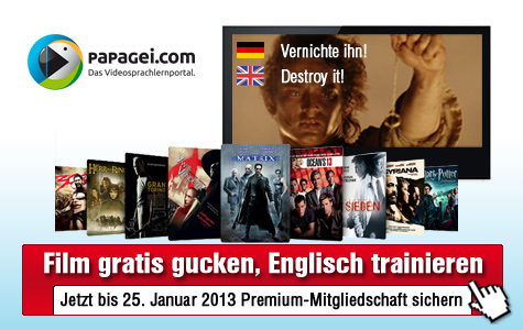 Video-Sprachlehrgang von Papagei.com©Papagei.com, Warner Home Video