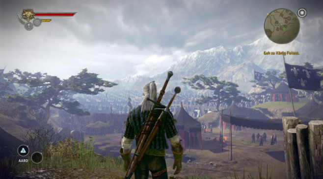 The Witcher 2 – Assassins of Kings ©Namco Bandai