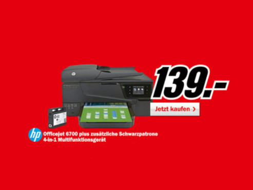 Hewlett-Packard HP Officejet 6700 © Media Markt