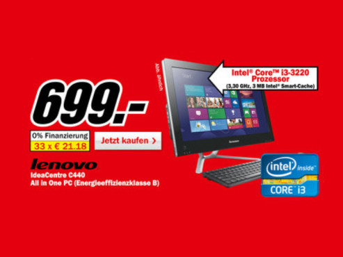 Lenovo C440 (VEX7BGE) ©Media Markt