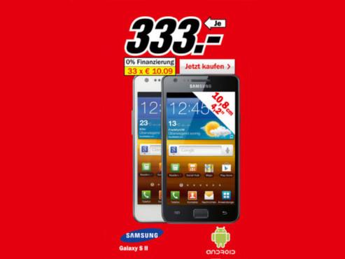 Samsung Galaxy S2 ©Media Markt