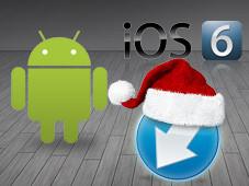 COMPUTER BILD stellt die besten Weihnachts-Apps f�r iOS und Android vor. ©electriceye - Fotolia.com, Apple, Google