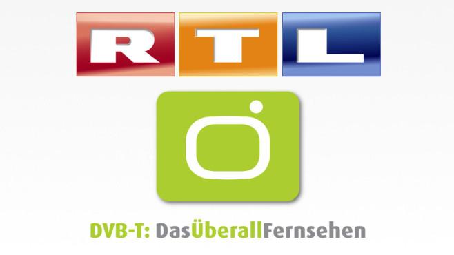 Die Logos von RTL und DVB-T ©RTL, DVB-T