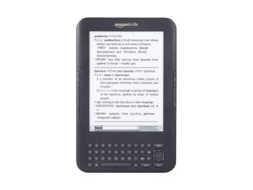 Amazon Kindle Keyboard 3G ©Amazon