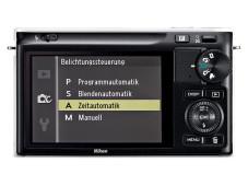 Nikon 1 J2 Rückansicht ©COMPUTER BILD