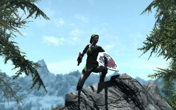 Rollenspiel The Elder Scrolls 5 – Skyrim: Zelda ©Bethesda