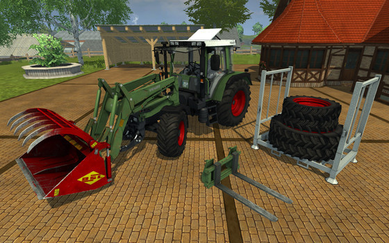 Fendt GTA 380 Turbo © Astragon