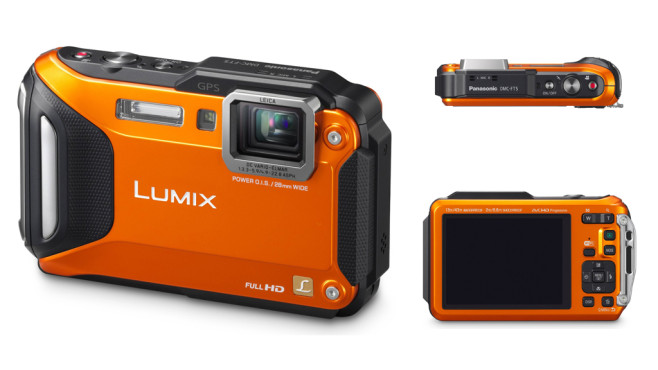 Panasonic Lumix DMC-FT5 (Orange) © Panasonic