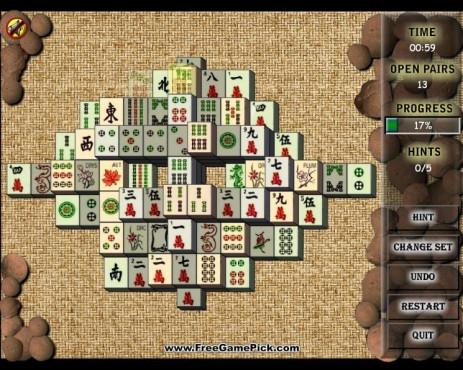 Mahjong City ©FreeGamePick.com
