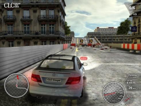 Mercedes CLC Dream Test Drive ©Mercedes-Benz UK