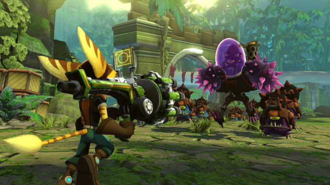 Actionspiel Ratchet & Clank � Q-Force © Sony
