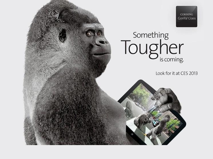 weiterentwicklung corning zeigt gorilla glass 3 auf der ces computer bild. Black Bedroom Furniture Sets. Home Design Ideas