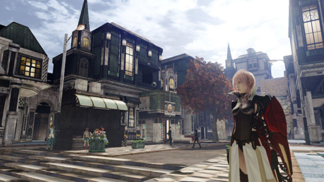 Rollenspiel Lightning Returns – Final Fantasy 13: Stadt © Square Enix