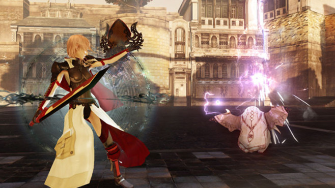 Rollenspiel Lightning Returns – Final Fantasy 13: Waffe © Square Enix