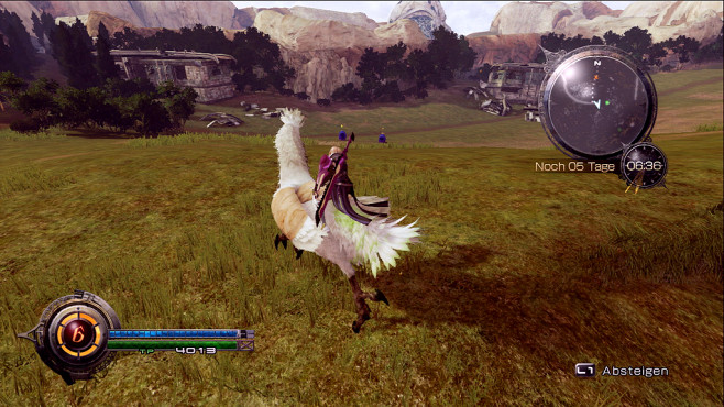 Rollenspiel Lightning Returns – Final Fantasy 13: Weißer Chocobo © Square Enix
