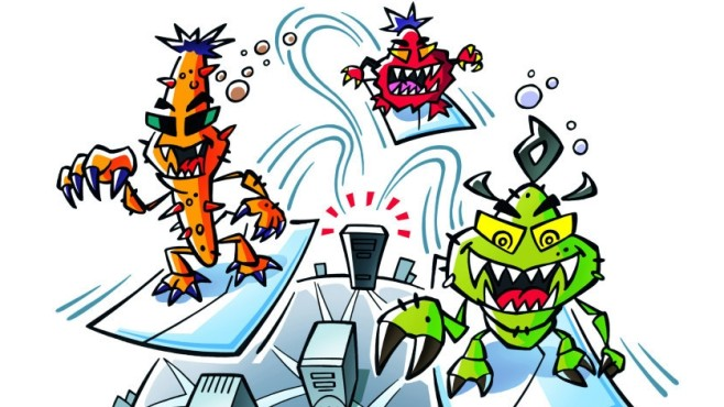 Viren lauern auf Systemschwachstellen ©COMPUTER BILD