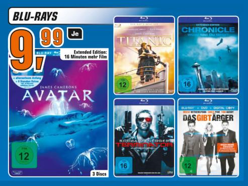 Film-Blu-rays ©Saturn