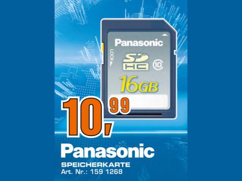 Panasonic Speicherkarte ©Saturn