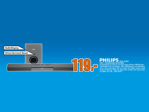 Philips HTL2150/12 © Saturn
