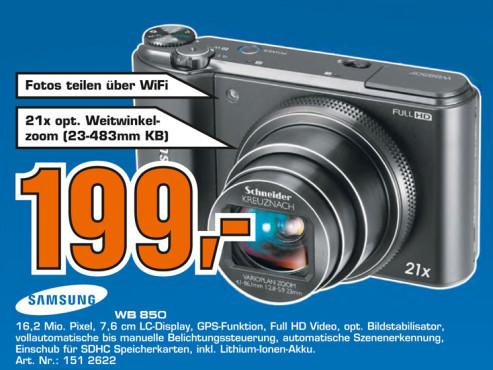 Samsung WB850F ©Saturn