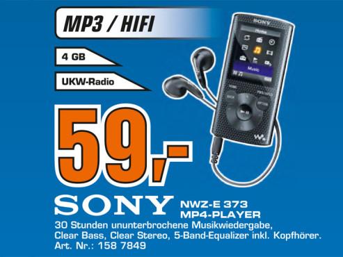 Sony NWZ-E373 ©Saturn