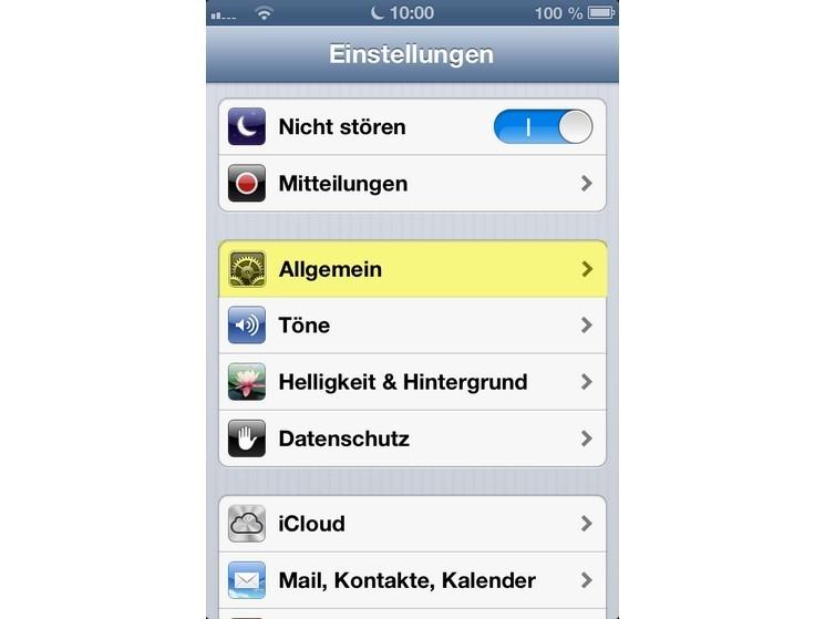 app von iphone löschen daten