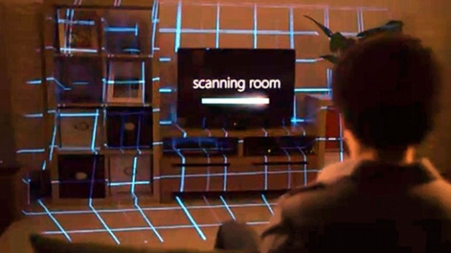 Xbox Illumiroom: Tech-Demo © Microsoft