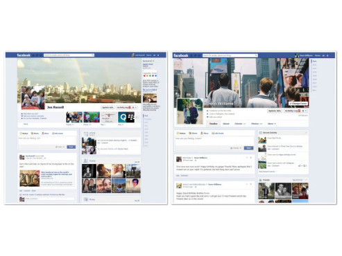 Facebook-Redesign © thenextweb.com