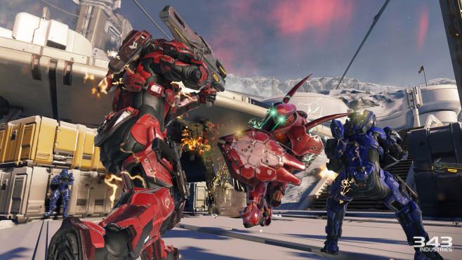 Halo 5 � Guardians: Kriegsgebiet ©Microsoft