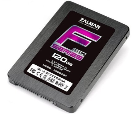 Zalman SSD0120F1 F Series © Zalman, Amazon
